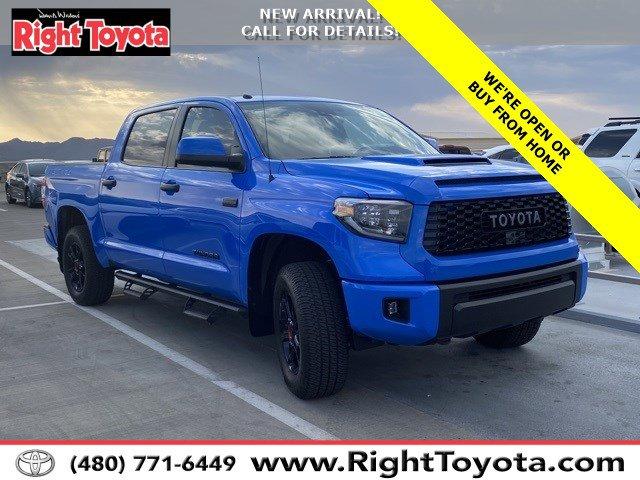 2019 Toyota Tundra 4X44D CrewMax  Regular Unleaded V-8 5.7 L/346 [7]