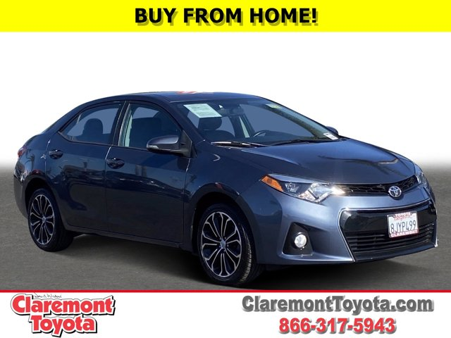 2016 Toyota Corolla S Plus 4dr Sdn CVT S Plus Regular Unleaded I-4 1.8 L/110 [19]