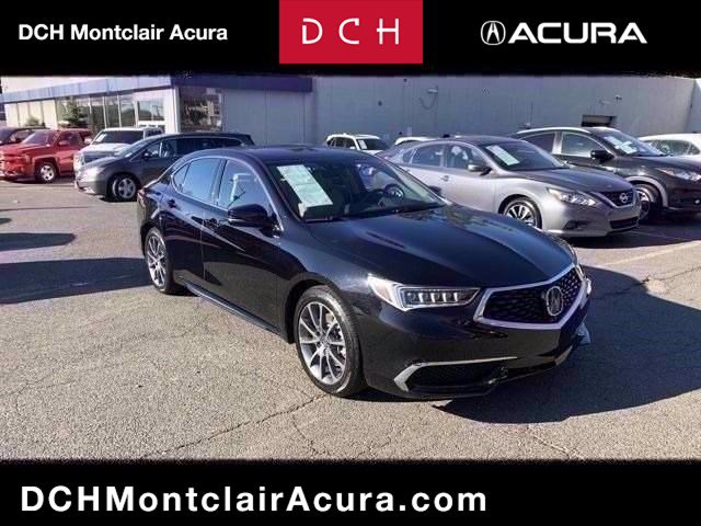2018 Acura TLX with Technology Pkg