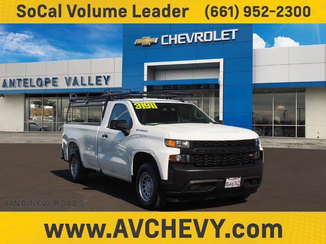 """2019 Chevrolet Silverado 1500 Work Truck 2WD Reg Cab 140"""" Work Truck Gas V8 5.3L/325 [2]"""