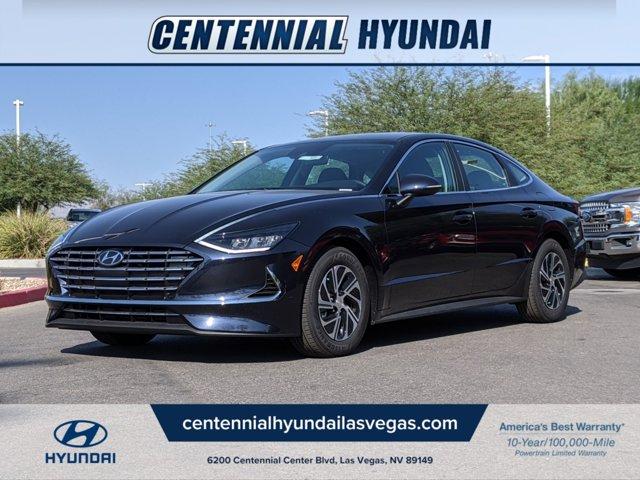 2021 Hyundai Sonata Hybrid Blue Blue 2.0L Gas/Electric I-4 2.0 L/122 [0]