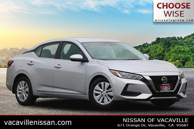 2020 Nissan Sentra S S CVT Regular Unleaded I-4 2.0 L/122 [8]