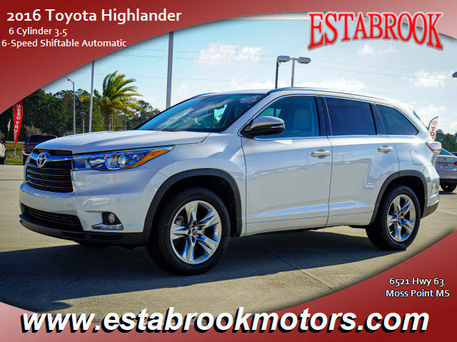 Used 2016 Toyota Highlander in , MS