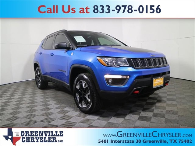 Used 2017 Jeep Compass in Greenville, TX