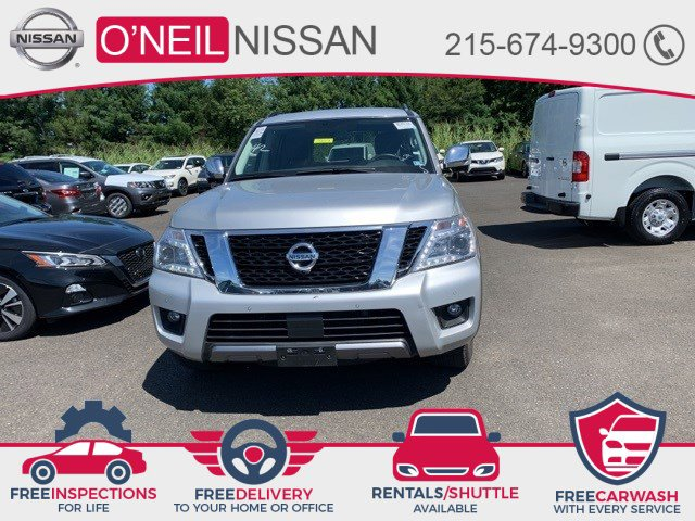 2019 Nissan Armada SL 4x4 SL Regular Unleaded V-8 5.6 L/339 [14]
