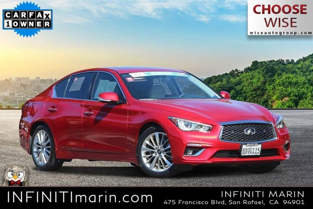 2021 INFINITI Q50 3.0t LUXE 3.0t LUXE RWD Twin Turbo Premium Unleaded V-6 3.0 L/183 [9]