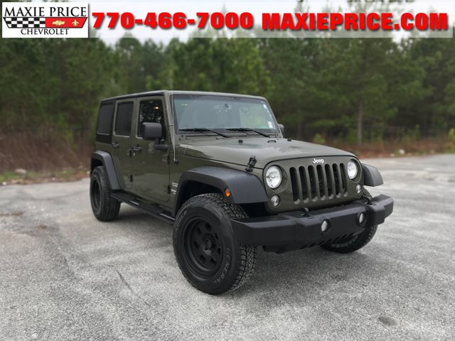 Used 2015 Jeep Wrangler Unlimited in Loganville, GA