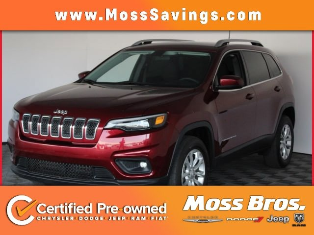 2019 Jeep Cherokee Latitude Latitude 4x4 Regular Unleaded V-6 3.2 L/198 [4]