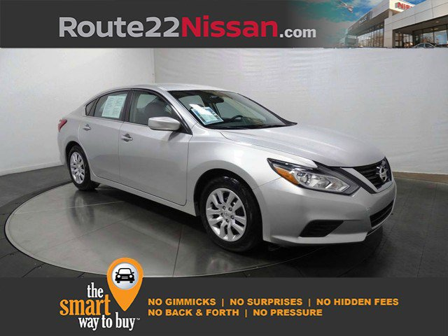 2017 Nissan Altima 2.5 S 2.5 S Sedan Regular Unleaded I-4 2.5 L/152 [10]