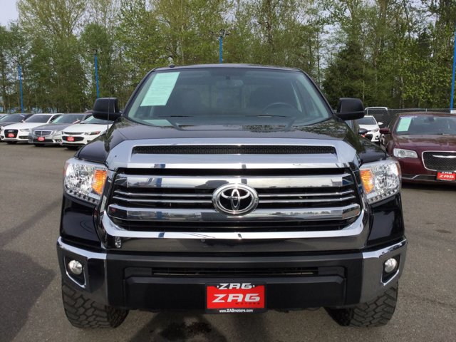 Used 2016 Toyota Tundra 4WD Truck Double Cab 4.6L V8 6-Spd AT SR5