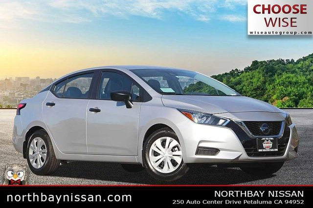 2020 Nissan Versa S S CVT Regular Unleaded I-4 1.6 L/98 [11]