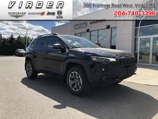 2020 Jeep Cherokee Trailhawk Trailhawk 4x4 Regular Unleaded V-6 3.2 L/198 [0]
