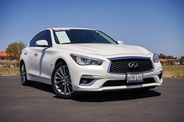 2018 INFINITI Q50 3.0t LUXE 3.0t LUXE RWD Twin Turbo Premium Unleaded V-6 3.0 L/183 [18]