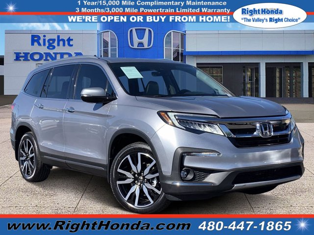2019 Honda Pilot Touring Touring 8-Passenger 2WD Regular Unleaded V-6 3.5 L/212 [7]