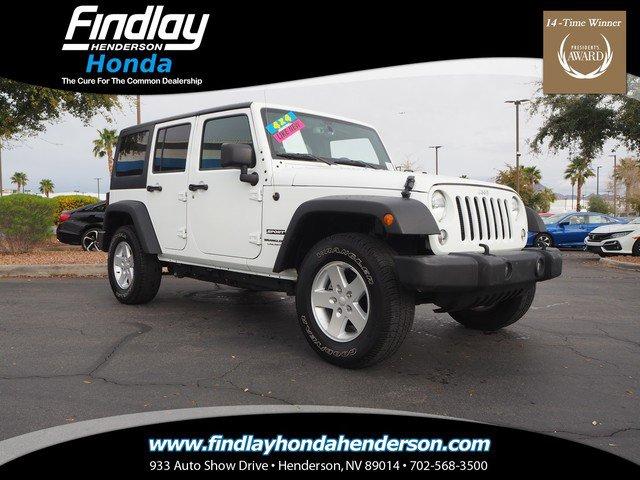 Used 2018 Jeep Wrangler JK Unlimited in Las Vegas, NV