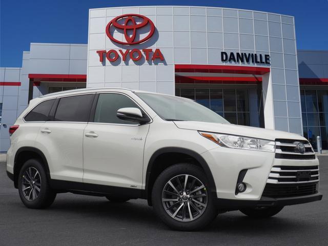 New 2019 Toyota Highlander Hybrid in Danville, VA