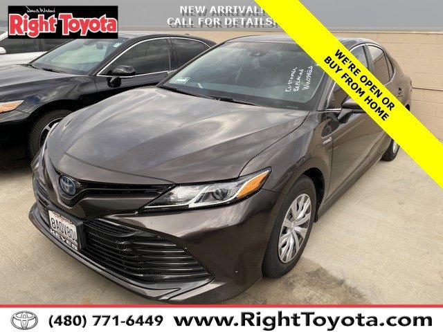 2018 Toyota Camry Hybrid HYBRID  Gas/Electric I-4 2.5 L/152 [29]