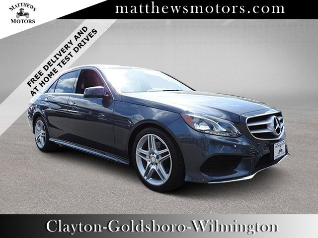 Used 2014 Mercedes-Benz E 350 Sport w/ Nav & Sunroof in Wilmington, NC