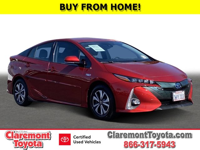 2017 Toyota Prius Prime Advanced Advanced Gas/Electric I-4 1.8 L/110 [1]