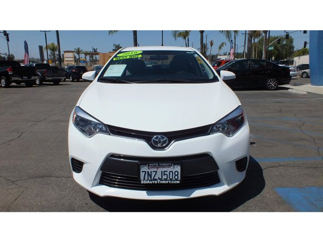 2016 Toyota Corolla LE 4DR FWD