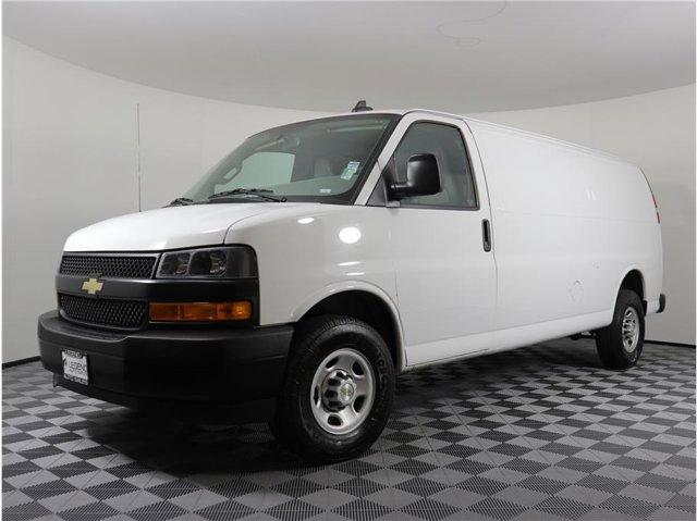 2018 Chevrolet Express Cargo Van Extended Van 3D