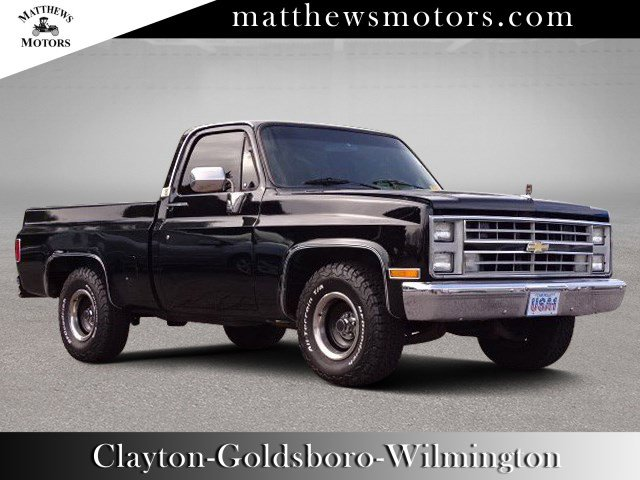 1987 Chevrolet R10 1/2 Ton Regular Cab