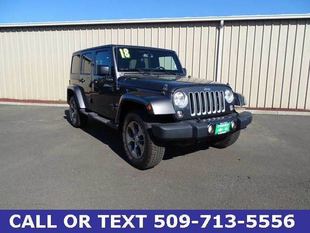 Used 2018 Jeep Wrangler JK Unlimited in Pasco, WA