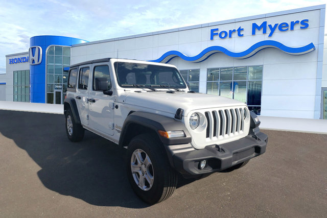 Used 2020 Jeep Wrangler Unlimited in Fort Myers, FL