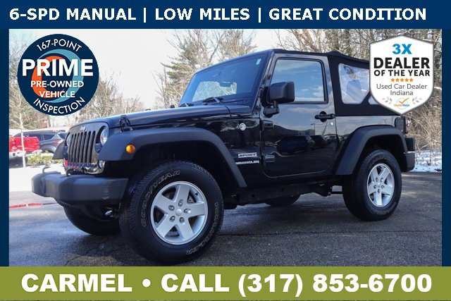 Used 2016 Jeep Wrangler in Indianapolis, IN