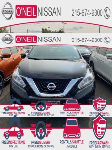 2017 Nissan Murano SV 2017.5 AWD SV Regular Unleaded V-6 3.5 L/213 [4]