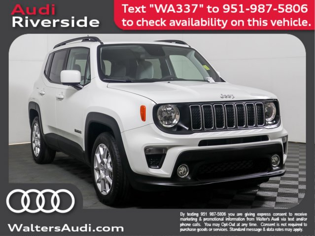 2019 Jeep Renegade Latitude Latitude FWD Regular Unleaded I-4 2.4 L/144 [5]