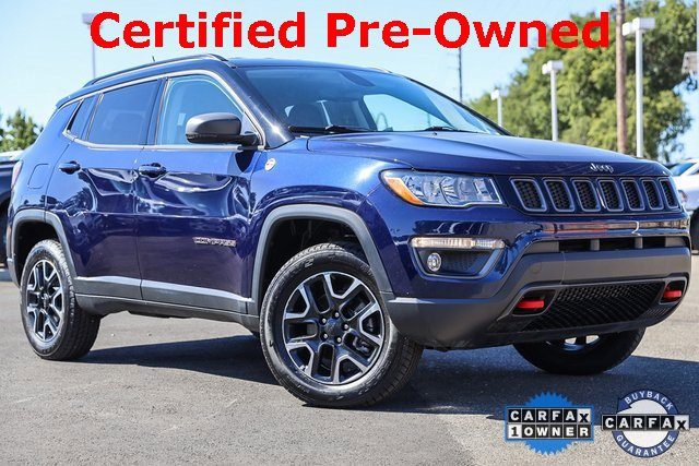 2019 Jeep Compass Trailhawk Trailhawk 4x4 Regular Unleaded I-4 2.4 L/144 [0]