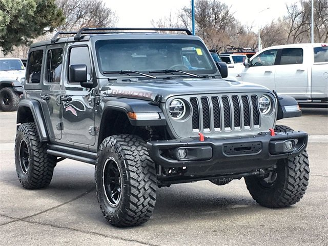 Used 2018 Jeep Wrangler Unlimited in Fort Collins, CO