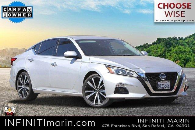2020 NISSAN ALTIMA 2.5 Platinum 2.5 Platinum Sedan Regular Unleaded I-4 2.5 L/152 [14]