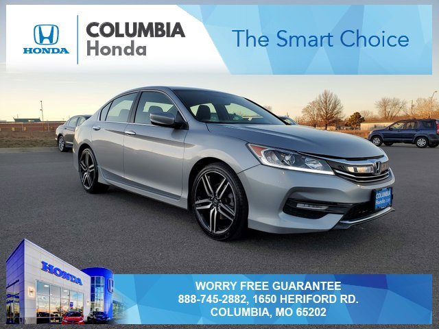 Used 2017 Honda Accord Sedan in Columbia, MO