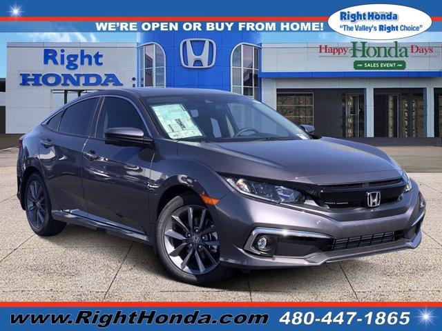 2020 Honda Civic EX EX CVT Intercooled Turbo Regular Unleaded I-4 1.5 L/91 [14]