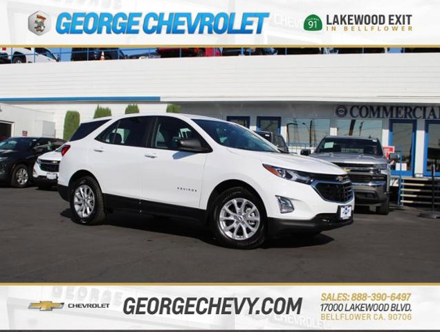 2020 Chevrolet Equinox LS FWD 4dr LS w/1LS Turbocharged Gas I4 1.5L/92 [5]