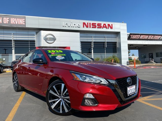 2020 Nissan Altima 2.0 SR 2.0 SR Sedan Intercooled Turbo Regular Unleaded I-4 2.0 L/120 [18]