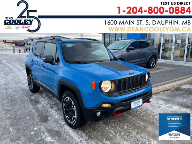 2015 Jeep Renegade Trailhawk 4WD 4dr Trailhawk Regular Unleaded I-4 2.4 L/144 [0]