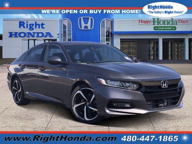 2020 Honda Accord Sport Sport 1.5T CVT Intercooled Turbo Regular Unleaded I-4 1.5 L/91 [3]
