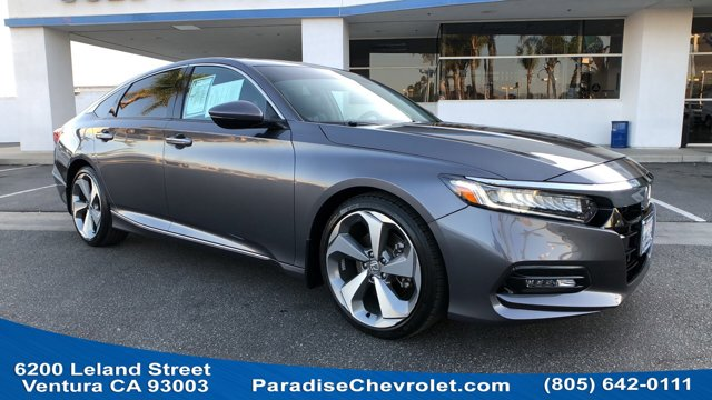 2018 Honda Accord Sedan Touring 1.5T Touring 1.5T CVT Intercooled Turbo Regular Unleaded I-4 1.5 L/91 [1]