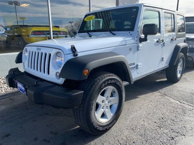 Used 2016 Jeep Wrangler Unlimited in Billings, MT