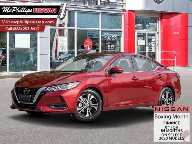 2020 Nissan Sentra SV CVT SV CVT Regular Unleaded I-4 2.0 L/122 [13]