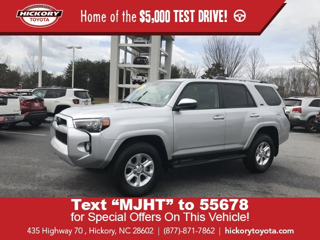 Used 2019 Toyota 4Runner in Hickory, NC