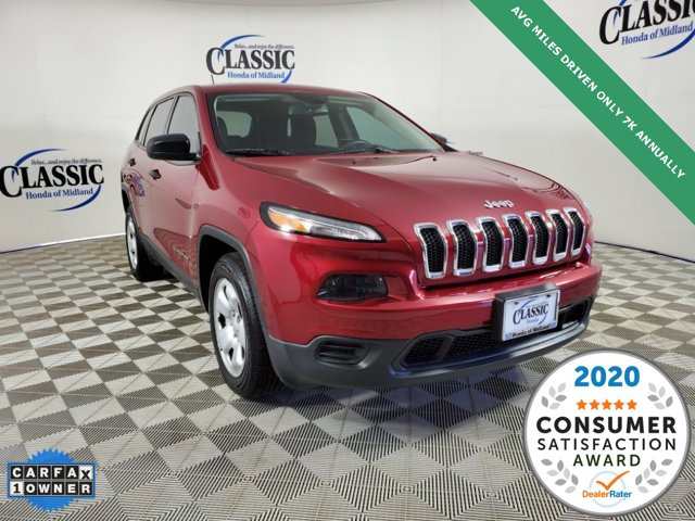 Used 2017 Jeep Cherokee in Midland, TX