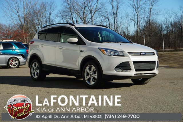 2015 Ford Escape SE Turbocharged Four Wheel Drive Power Steering ABS 4-Wheel Disc Brakes Brake