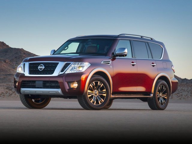 2020 Nissan Armada Platinum 4x4 Platinum Regular Unleaded V-8 5.6 L/339 [11]