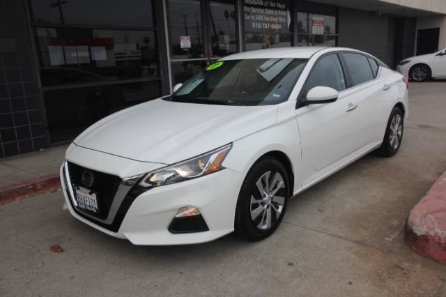 2019 Nissan Altima 2.5 S 2.5 S Sedan Regular Unleaded I-4 2.5 L/152 [8]