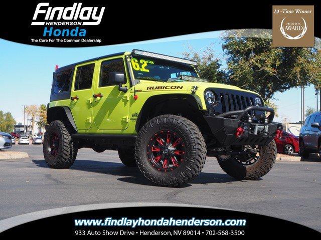 Used 2016 Jeep Wrangler Unlimited in Las Vegas, NV