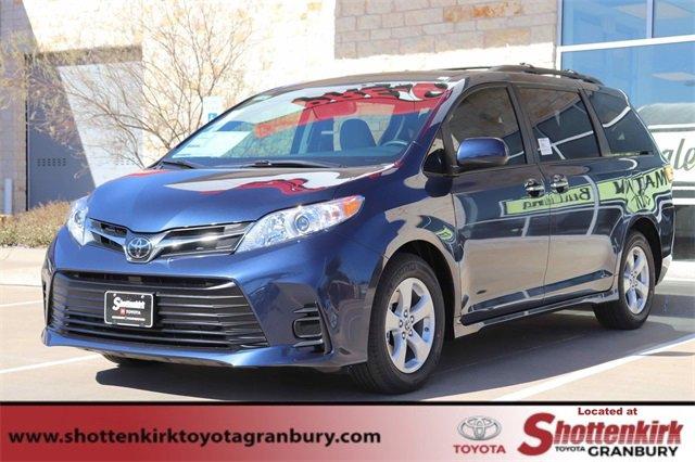 New 2020 Toyota Sienna in Granbury, TX